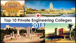 Top Ten Private Engineering Colleges India