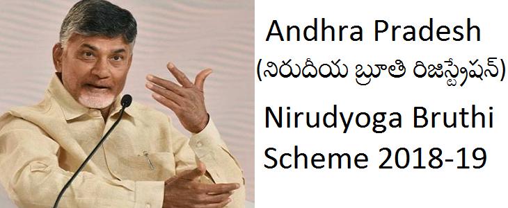 AP Nirudyoga Bruthi Scheme Online Registration 2019 | Andhra Pradesh Mukhyamantri Yuva Nestam Apply Online