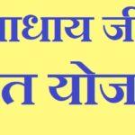 Pannadhay jivan amrit yojana