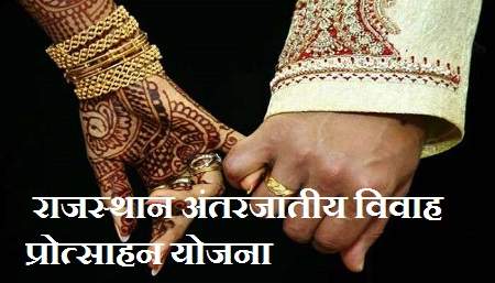 Rajasthan Inter caste marriage yojana