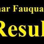 Bsmeb fauquania result 2018