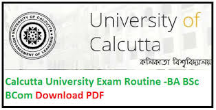 Calcutta University Exam Dates 2019 (Announced)– CU BA BSC BCOM Time table