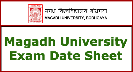 Magadh University Exam Schedule 2019 BA BSC BCOM Part 1/2/3 Exam Date Sheet 2019 PDF