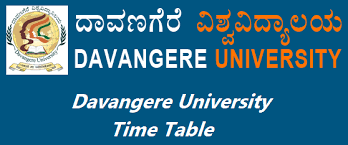 "Davangere University Time Table 2019 """"Download"""" Davangere University BA BSC BCOM Exam Date"