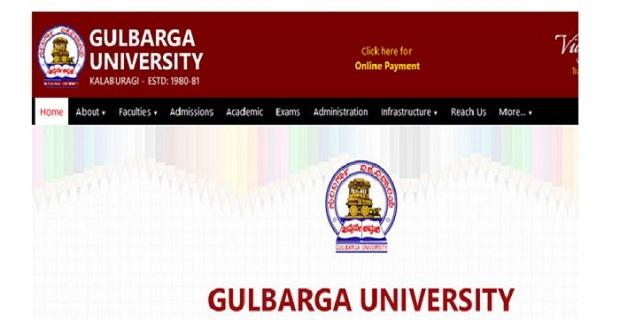 Gulbarga University Time Table 2019 BA BSC BCOM B.Ed 2nd 4th 6th Exam Date Sheet 2019