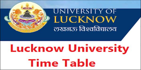 Lucknow university exam scheme 2019 LU BA B.SC B.COM Exam Scheme @ www.lkouniv.ac.in
