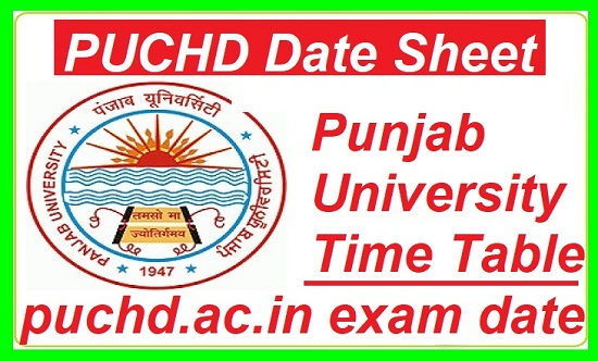 PUCHD Date Sheet 2019 Punjab University Exam Date Sheet BA/ B.Sc/ B.Com