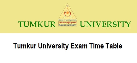 Tumkur University Time Table 2020 BA B.COM B.SC B.Ed Degree Exam Date Sheet 2020 PDF Download