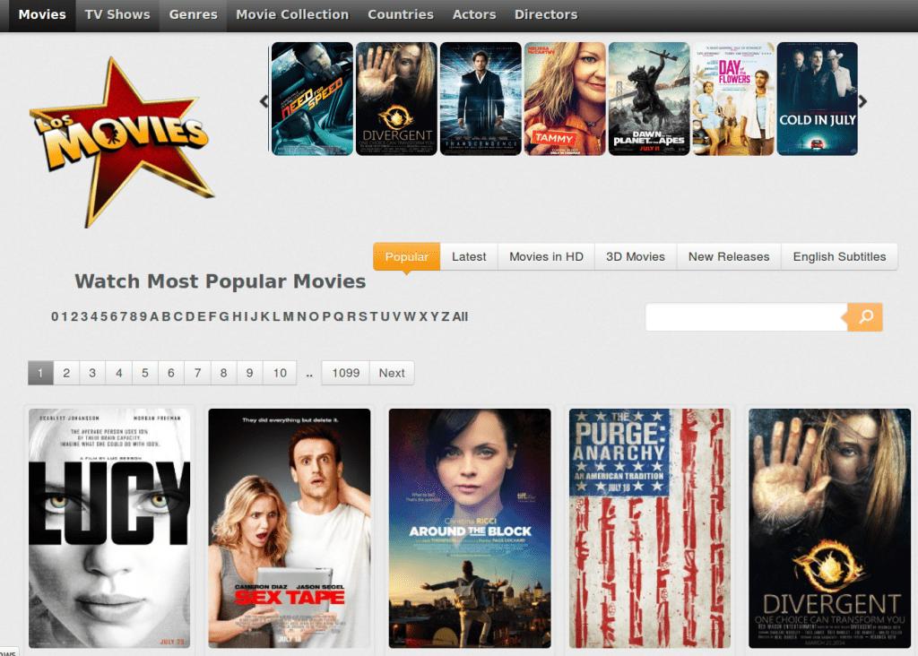 Los Movies- Putlocker similar site